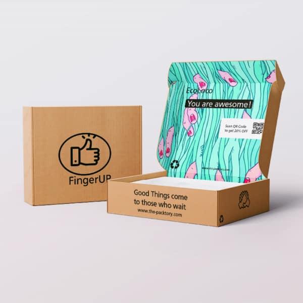 mailer box - impact