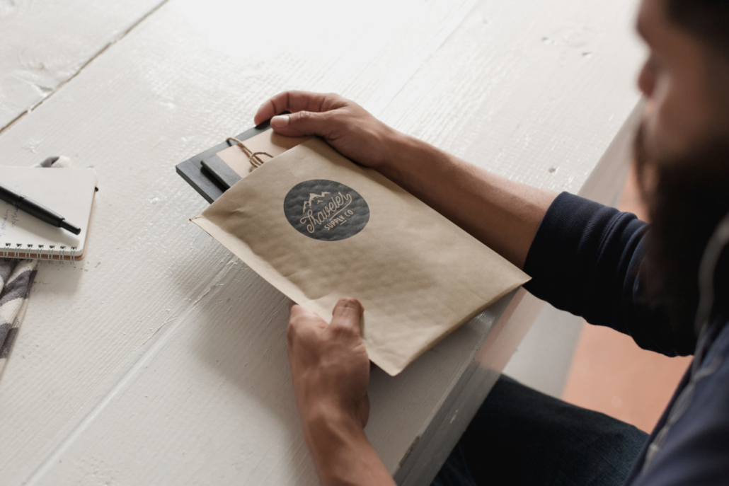 Polymailers are a great way to send products while reflecting your brand