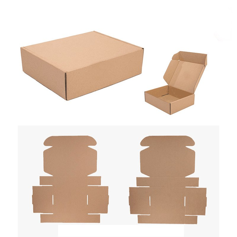 Our packaging boxes are made of ecofriendly recycled materials